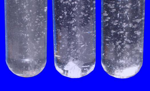 Metalloxid + Wasser